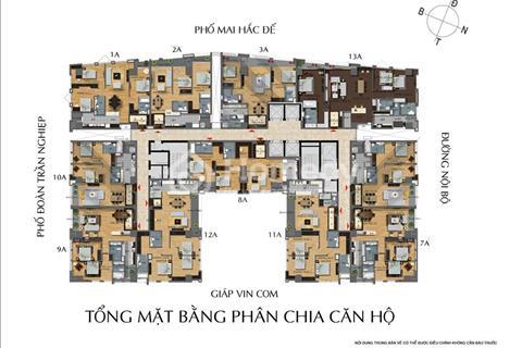 Gấp, bán căn hộ 8A diện tích 96,7m2 giá 7,2 tỷ để lại đủ đồ, chung cư 114 Mai Hắc Đế