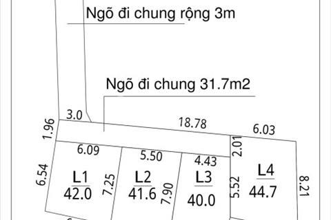 Bán gấp 200m2 đất tại xóm Ba, Vân Nội, Đông Anh giá cực rẻ
