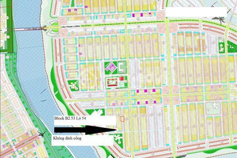 Chính chủ cần bán block B2.53, lô số 54 khu đô thị Nam Hòa Xuân giá rẻ 1,23 tỷ đồng