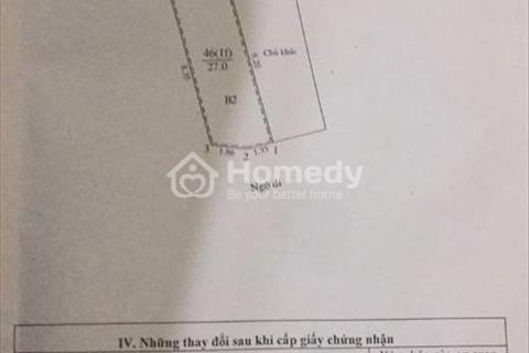 Bán nhà hoặc đất Minh Khai, Kim Ngưu, Bạch Mai, diện tích 30m2, giá 1.95 tỷ