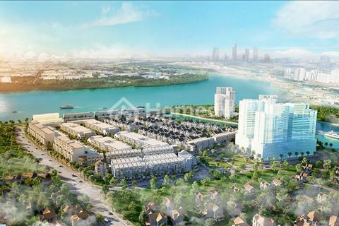 Biệt thự cao cấp bên sông Sài Gòn, quận 2, khu an ninh khép kín, 9 tỷ/căn