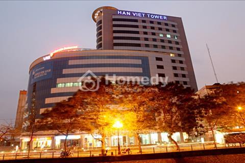 Cho thuê văn phòng hạng A tòa nhà Hàn Việt Tower 203 Minh Khai, 55m2, 66m2, 100m2, 300m2, 500m2