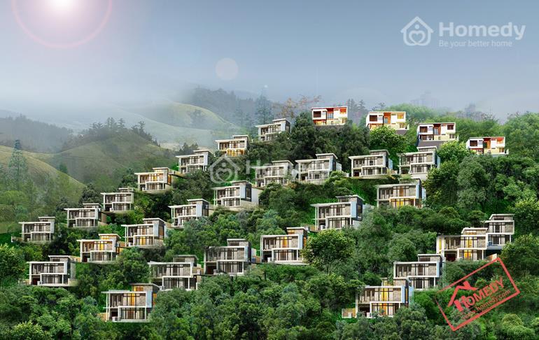 Phối cảnh tổng thể khu biệt thự nghỉ dưỡng Marina Hill