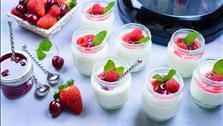 Học làm sữa chua mứt trái cây thơm ngon cho con mê tít