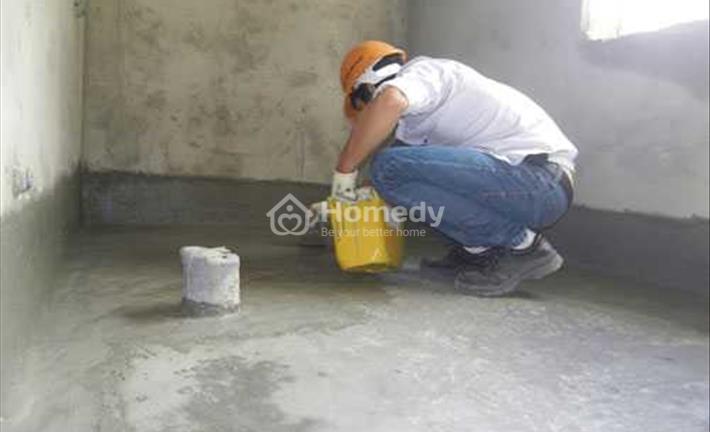 Giải pháp chống thấm nước ẩm mốc chân tường hiệu quả