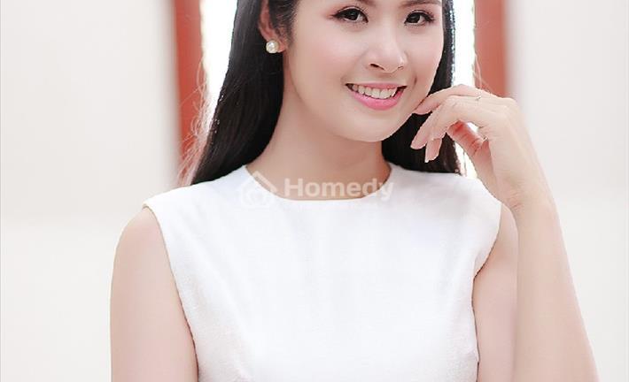 Ngắm căn hộ chung cư đậm chất Việt của Hoa hậu Ngọc Hân