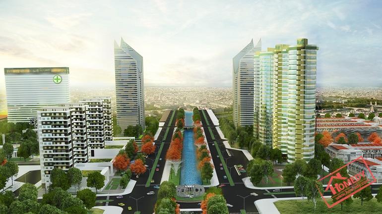 phoi canh tong the hue green city