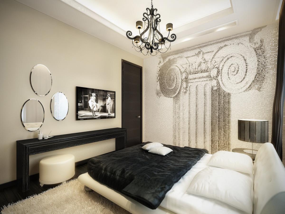 Biến căn phòng ngủ trở nên bắt mắt hơn với chiếc giường được đặt đúng chỗ.